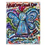 Colorful Cancer Angel Small Poster