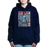 Colorful Cancer Angel Hooded Sweatshirt