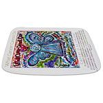 Colorful Cancer Angel Bathmat