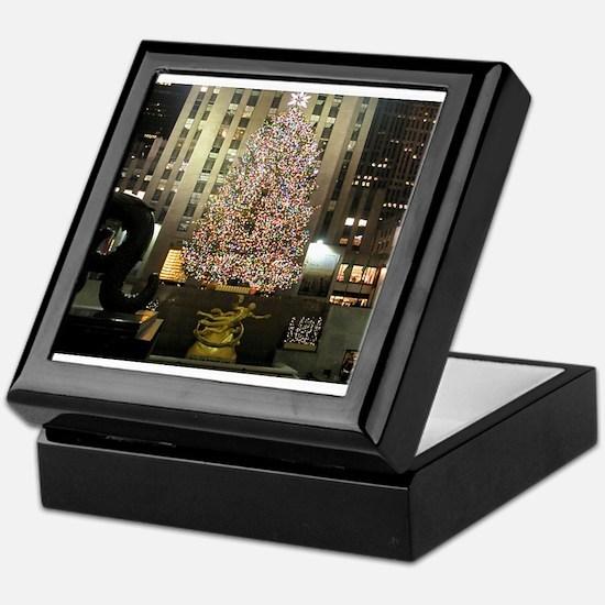Christmas In The City Keepsake Box