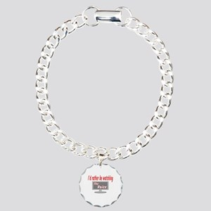 Rather Be Watching The Voice Charm Bracelet, One C