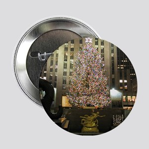 "Christmas in the City 2.25"" Button"