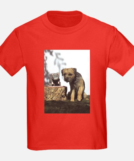Border Terrier and Rat T