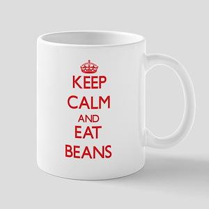 Keep calm and eat Beans Mugs