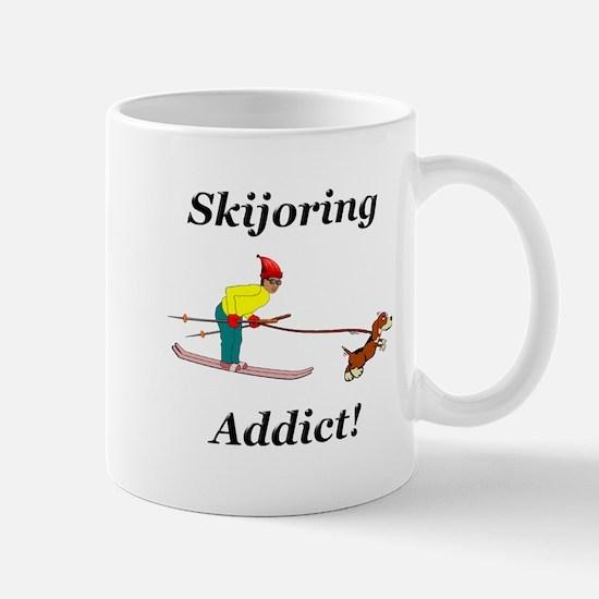 Skijoring Dog Addict Mug