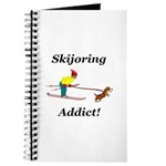 Skijoring Dog Addict Journal