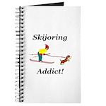 Skijoring Dog Addict Journal