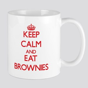 Keep calm and eat Brownies Mugs