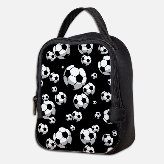 Soccer Neoprene Lunch Bag