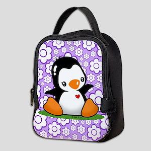 Penguin Neoprene Lunch Bag