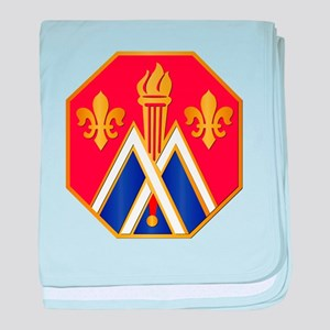 DUI - 89th Infantry Division baby blanket