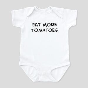 Eat more Tomatoes Infant Bodysuit