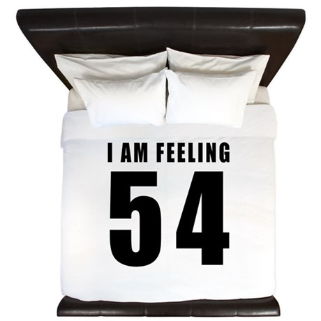I am feeling 54 King Duvet