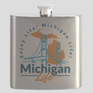 Michigan Life #27 Flask