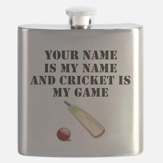 Cricket Is My Game (Custom) Flask