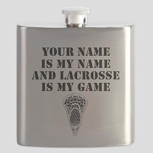 Lacrosse Is My Game (Custom) Flask