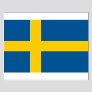 Sweden Flag Small Poster