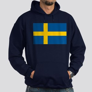 Sweden Flag Hoodie (dark)