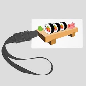 Sushi Japanese Food Luggage Tag