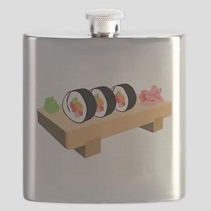 Sushi Japanese Food Flask