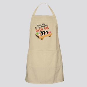 Point Me To The Nearest SUSHI BAR Apron