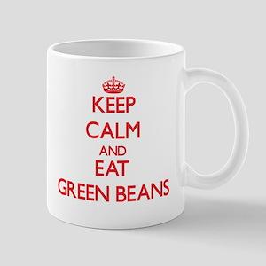Keep calm and eat Green Beans Mugs