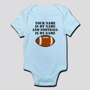 Football Is My Game (Custom) Body Suit