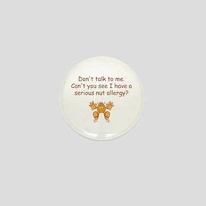 Nut Allergy Mini Button