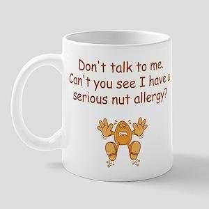 Nut Allergy Mugs