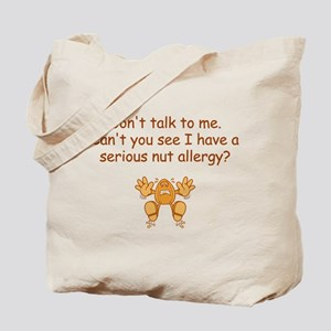 Nut Allergy Tote Bag