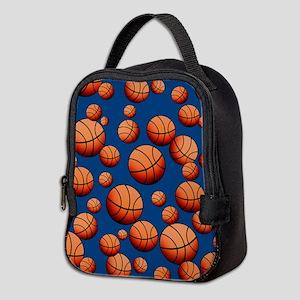 Basketball Neoprene Lunch Bag