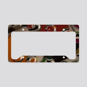waterdrops License Plate Holder