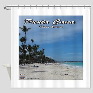dominican republic Shower Curtain