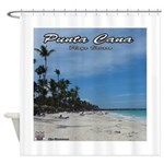 dominican republic Shower Curtain