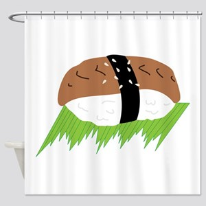 Unagi Eel Sushi Shower Curtain