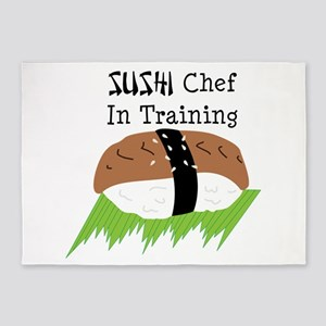 SUSHI Chef In Training 5'x7'Area Rug