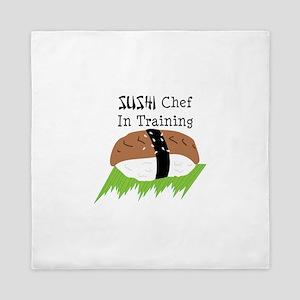 SUSHI Chef In Training Queen Duvet