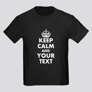 bd73a8ce1 Keep Calm And Carry On Parody Kids T-Shirts - CafePress