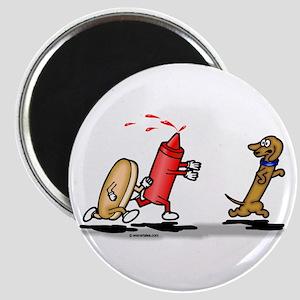 "Run Wiener Dog! 2.25"" Magnet (10 pack)"