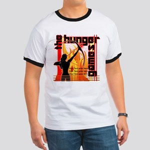Personalize Girl on Fire Ringer T