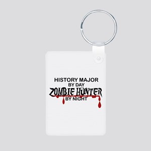 Zombie Hunter - History Major Aluminum Photo Keych