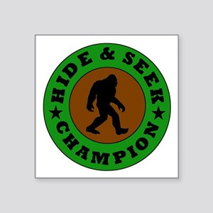 Bigfoot Hide And Seek Champion Sticker