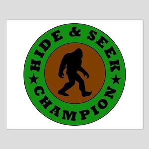 Bigfoot Hide And Seek Champion Posters