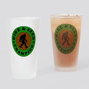 Bigfoot Hide And Seek Champion Drinking Glass