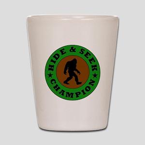 Bigfoot Hide And Seek Champion Shot Glass