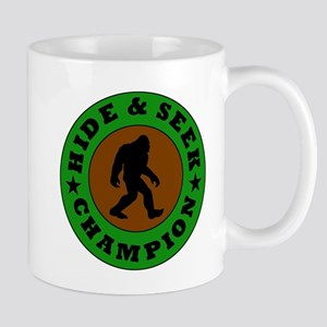 Bigfoot Hide And Seek Champion Mugs