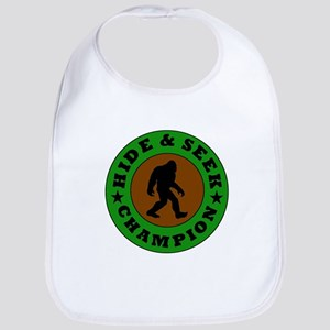 Bigfoot Hide And Seek Champion Bib