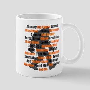 Bigfoot Names Mugs