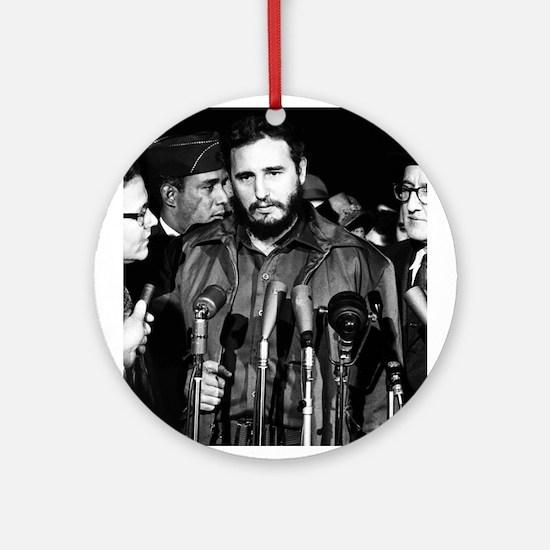 Fidel Castro 1959 Ornament (Round)