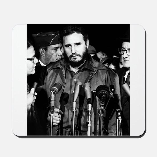 Fidel Castro 1959 Mousepad
